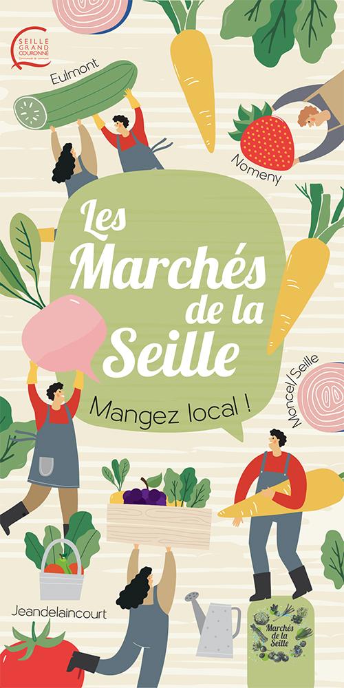 Les Marchés de la Seille : mangez local !