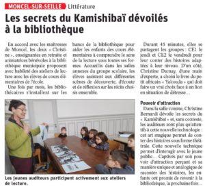 Les secrets du Kamishibaï dévoilés à la bibliothèque